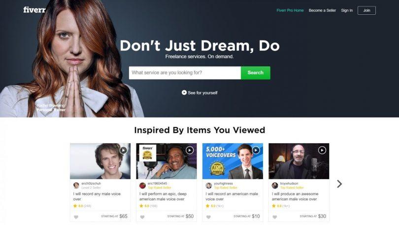Fiverr, la plateforme de services par excellence