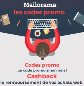 Mailorama cashback code promo