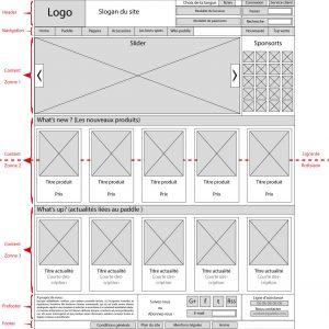 maquette site e-commerce