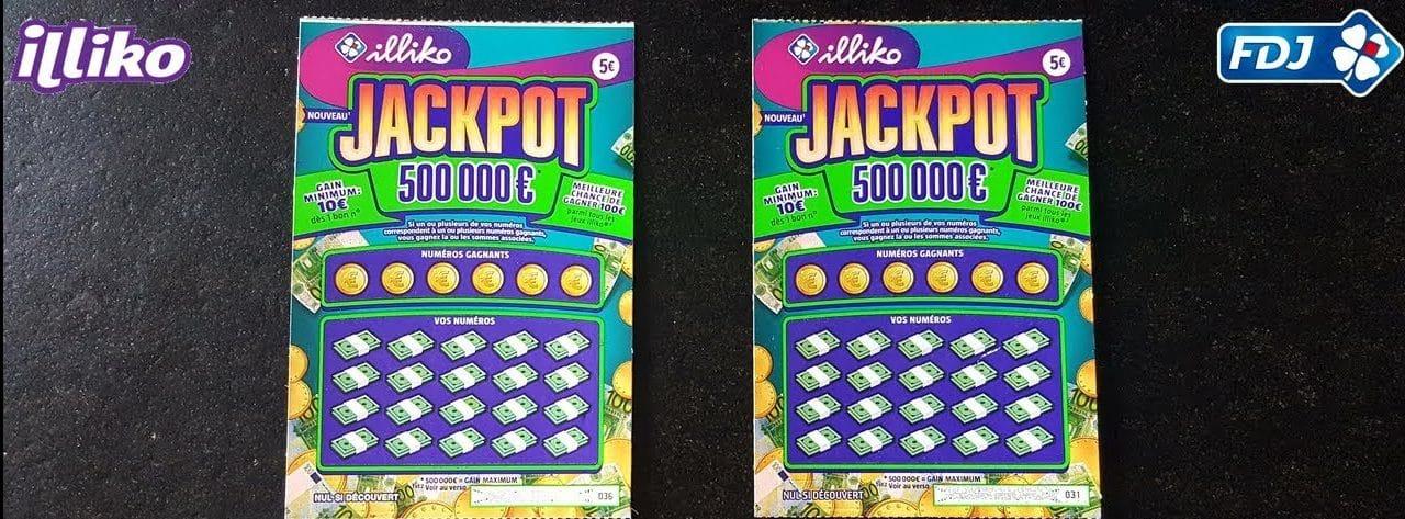 Gagnez 500.000 euros avec le Jackpot Illiko
