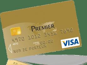 Carte bancaire Visa Premier