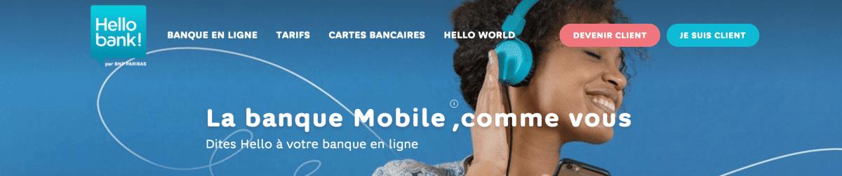 Banque en ligne Hello Bank - image