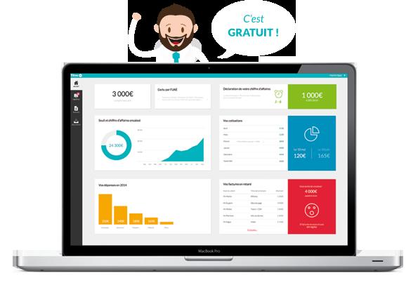 tiime AE logiciel micro entrepreneur gratuit