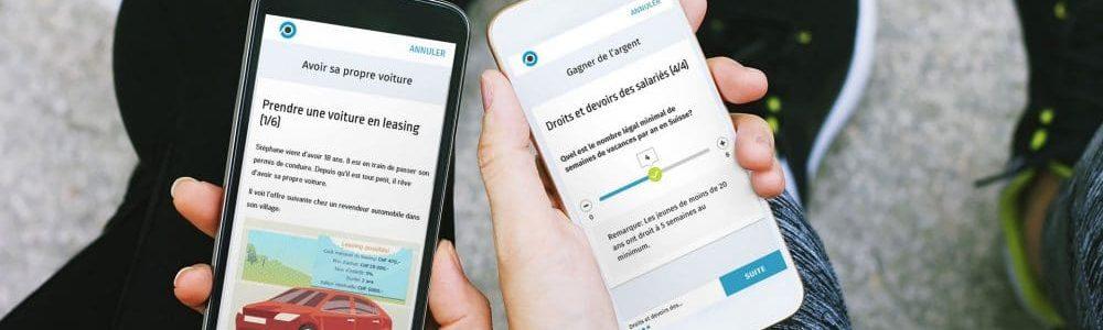 gagner sur le net, Utiliser des applications pour smartphones