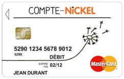 La carte Nickel - image