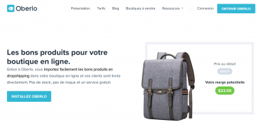 oberlo dropshipping shopify